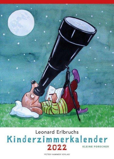 Leonard Erlbruchs Kinderzimmerkalender 2022 - Leonard Erlbruch