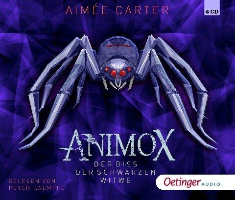 Animox 04. Der Biss der schwarzen Witwe - Aimée Carter