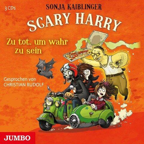 Scary Harry 08. Zu tot, um wahr zu sein - Sonja Kaiblinger