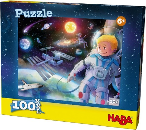 Puzzle Weltall. 100 Teile -