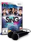 Let's Sing 2019 mit deutschen Hits [+ 2 Mikrofone] (Nintendo WII) -