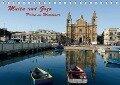Malta und Gozo, Perlen im Mittelmeer (Tischkalender 2018 DIN A5 quer) - Hermann Koch