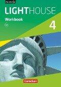 English G LIGHTHOUSE 04: 8. Schuljahr. Workbook mit Audio-Materialien - Gwen Berwick, Sydney Thorne
