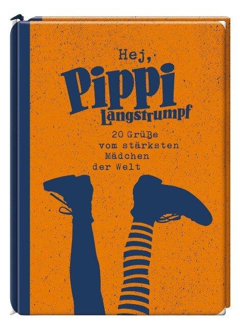 Hej, Pippi Langstrumpf! 20 Postkarten - Astrid Lindgren