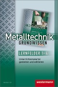 Metalltechnik Grundwissen. CD-ROM Unterrichtsmaterial gestalten - Jürgen Kaese, Lutz Langanke, Karl-Georg Schmid, Günter Sokele, Günther Tiedt