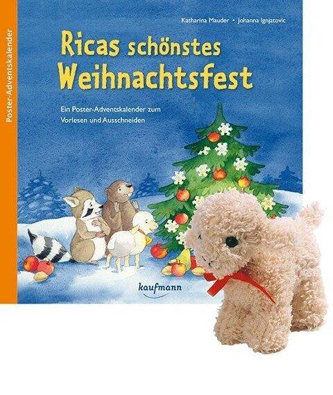 Ricas schönstes Weihnachtsfest mit Stoffschaf - Katharina Mauder