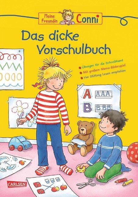 Conni Gelbe Reihe: Lernspaß - Das dicke Vorschulbuch - Hanna Sörensen