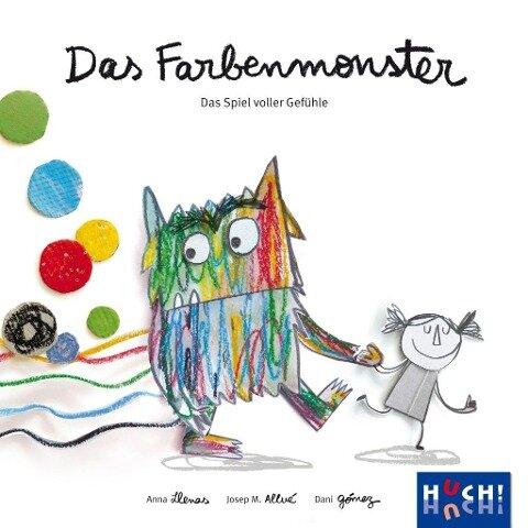 Das Farbenmonster - Das Spiel - Josep M. Allué, Dani Gómez