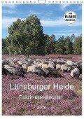 Lüneburger Heide - Faszinierend schön (Wandkalender 2018 DIN A4 hoch) Dieser erfolgreiche Kalender wurde dieses Jahr mit gleichen Bildern und aktualisiertem Kalendarium wiederveröffentlicht. - Heike Nack