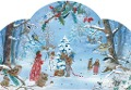 Die kleine Elfe feiert Weihnachten. Adventskalender -