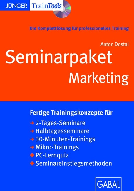 Seminarpaket Marketing - Anton Dostal