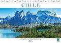 Chile: Traumlandschaften (Tischkalender 2019 DIN A5 quer) - K. A. Calvendo