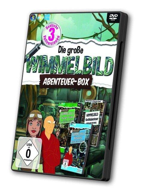 Wimmelbild Abenteuer-Box -