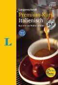 Langenscheidt Premium-Kurs Italienisch - Sprachkurs mit 2 Büchern, 6 Audio-CDs, MP3-Download, Online-Tests und Zertifikat - Vinicio Parma, Valerio Vial