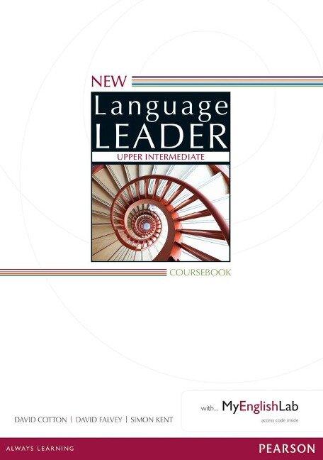 New Language Leader Upper Intermediate Coursebook with MyEnglishLab Pack - David Cotton, David Falvey, Simon Kent