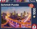 Lichter der Großstadt, 1.000 Teile Puzzle -