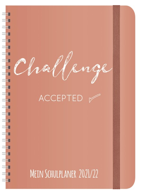 Schülerkalender Challenge 2021/2022 -