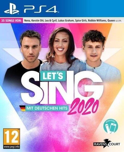Let's Sing 2020 mit deutschen Hits (PS4) -