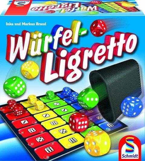 Würfel-Ligretto - Inka Brand, Markus Brand