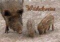 Wildschweine (Wandkalender 2018 DIN A3 quer) - Martina Berg