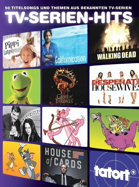 TV-Serien-Hits - 50 Titelsongs und Themen aus bekannten TV-Serien -