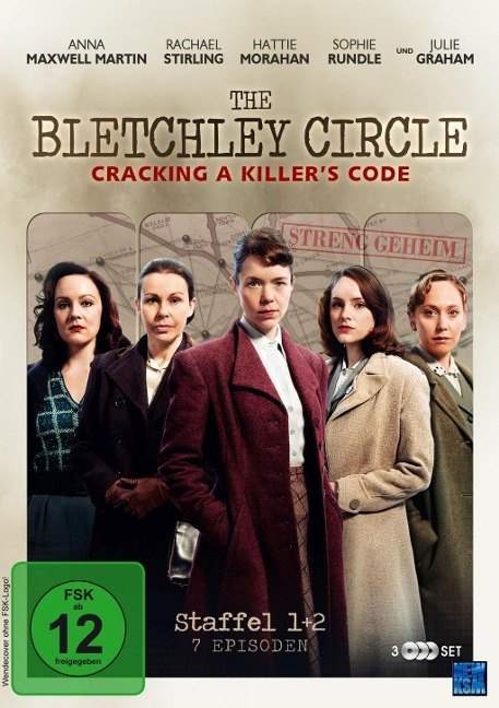 The Bletchley Circle - Cracking a Killer's Code - Staffel 1 + 2: Episode 01-07 -