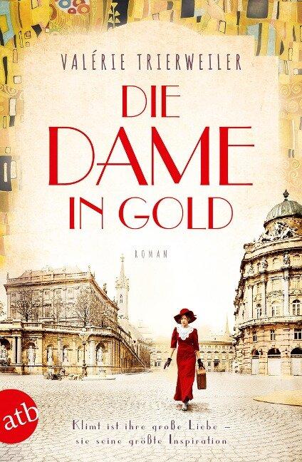 Die Dame in Gold - Valérie Trierweiler