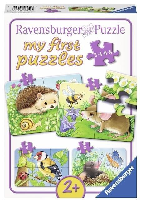 Süße Gartenbewohner. My first Puzzles. 4 Motive -