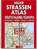 Neuer Straßenatlas Deutschland/Europa 2019/2020 -