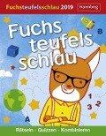Fuchsteufelsschlau - Kalender 2019 -