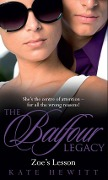 Zoe's Lesson (The Balfour Legacy, Book 5) - Kate Hewitt