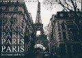 Paris - in schwarz und weiss (Wandkalender 2018 DIN A4 quer) - Christian Lindau