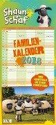 Shaun das Schaf Familienkalender 2018 -