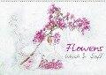 Flowers Weich & Soft (Wandkalender 2018 DIN A2 quer) - N N