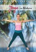 Yoga in Bildern (Tischkalender 2019 DIN A5 hoch) - Andy Nowack