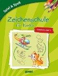Zeichenschule für Kinder ab 6 Jahren -