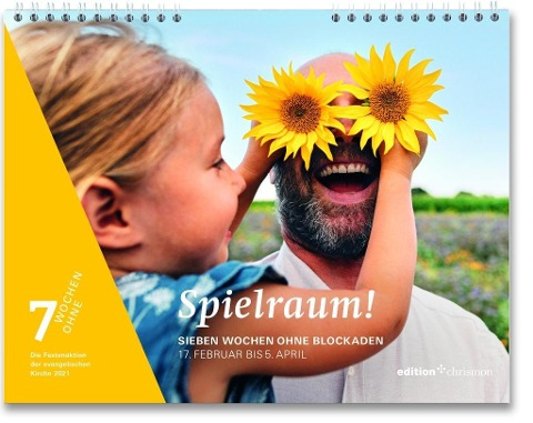 Fastenkalender 2021: Wandkalender -
