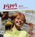 Pippi Langstrumpf Postkartenkalender 2019 -