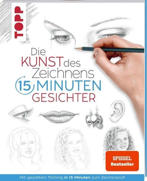 Die Kunst des Zeichnens 15 Minuten - Gesichter. SPIEGEL Bestseller -