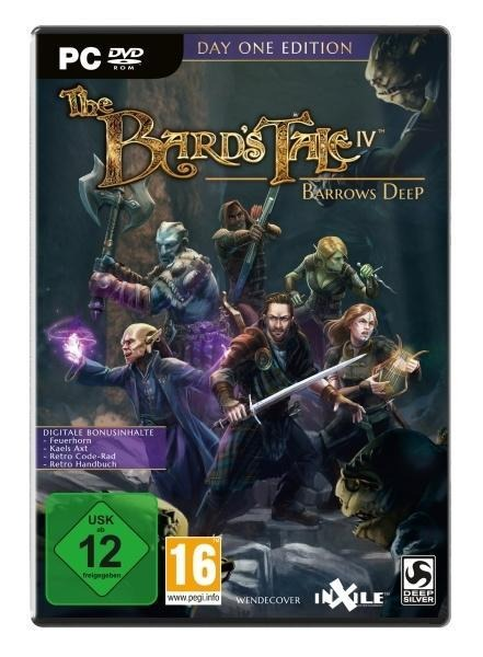 The Bard's Tale IV: Barrows Deep Day One Edition. Für Windows 7/8/10 (64-Bit) -