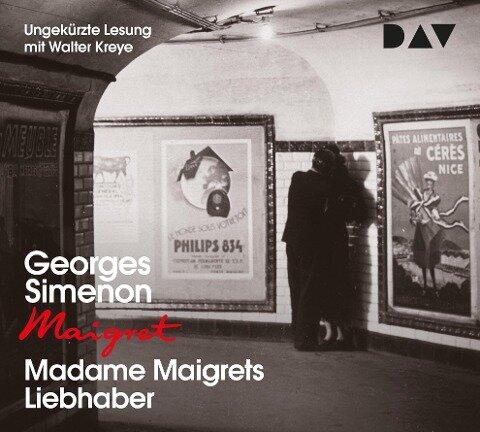 Madame Maigrets Liebhaber - Georges Simenon
