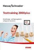 Hesse/Schrader: Testtraining 2000plus + ActiveBook -
