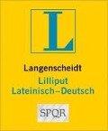 Langenscheidt Lilliput Lateinisch. Lateinisch-Deutsch -