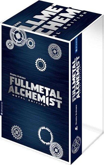 Fullmetal Alchemist Metal Edition 04 mit Box - Hiromu Arakawa