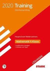 Lösungen zu Training Abschlussprüfung Hauptschule 2020 - Mathematik 9. Klasse - Niedersachsen -