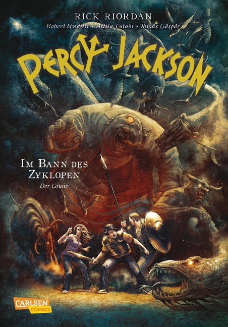 Percy Jackson (Comic) 02: Im Bann des Zyklopen - Rick Riordan, Robert Venditti