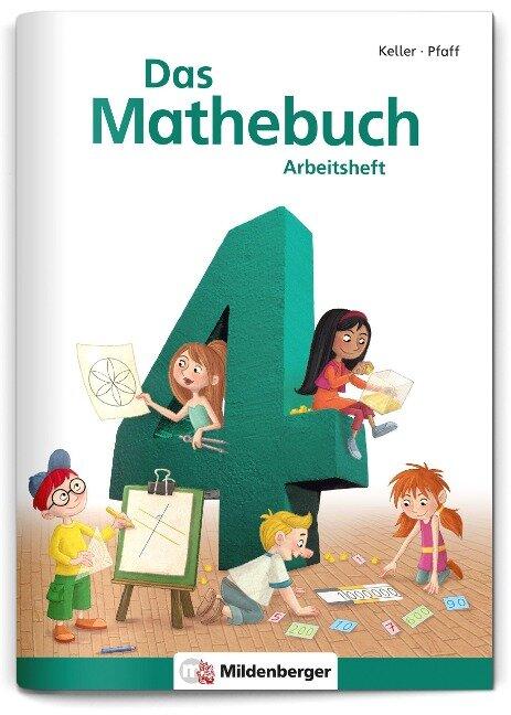 Das Mathebuch 4 - Arbeitsheft - Hendrik Simon, Nina Simon