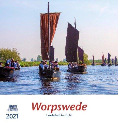 Worpswede 2021 Postkartenkalender -