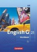 English G 21. Ausgabe A 4. Workbook mit Audios online - Jennifer Seidl, Susan Abbey