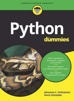 Python für Dummies - Johannes C. Hofmeister, Horst Schneider